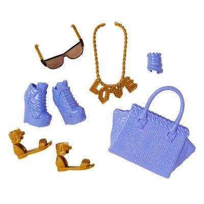 Acessórios Barbie - Bolsas e Sapatos - Serie - 4 - Mattel