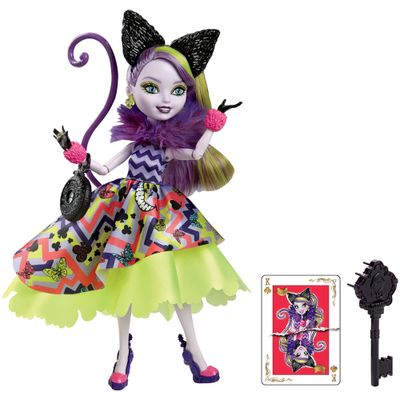 Boneca Ever After High - País das Maravilhas - Kitty Cheshire - Mattel