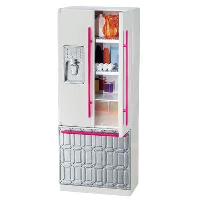 Casa da Barbie - Móveis - Geladeira - Mattel