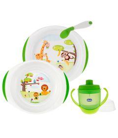 100110134-Kit-de-Alimetacao-com-Conjunto-de-Pratos-Plasticos-Primeira-Colher-e-Copo-com-Bico-200ml-Chicco