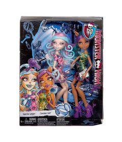 Bonecas-Monster-High---Sustos-e-Maquiagem---Clawdeen-Wolf-e-Viperine-Gorgon---Mattel