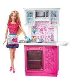 Boneca-Barbie-com-Movel---Cozinha---Mattel