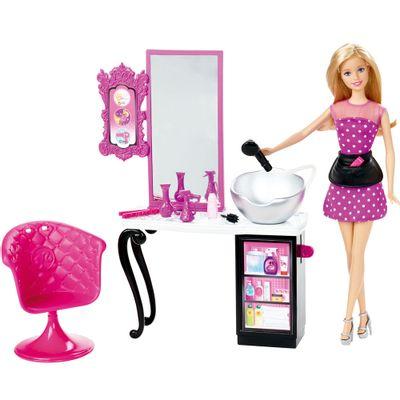 Boneca Barbie - Salão de Beleza - Mattel