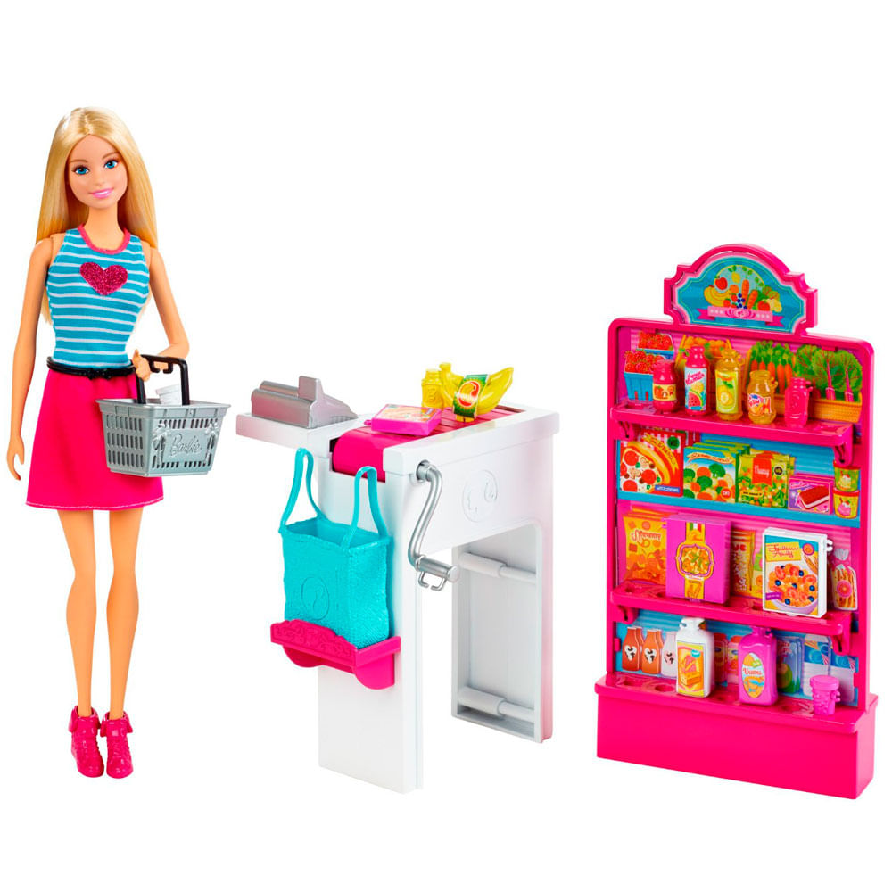 Boneca Barbie - Loja de Conveniência - Mattel