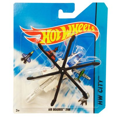 Avião Hot Wheels - Skybusters Air Grabber 2100 - Mattel