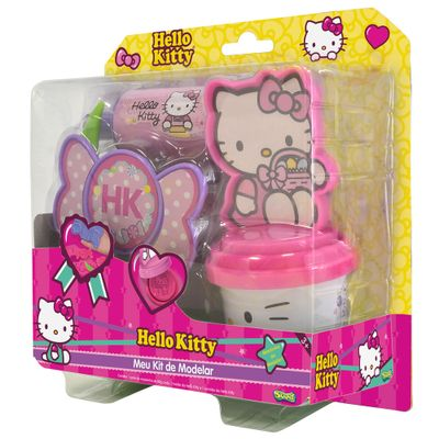 Massinha Hello Kitty - Meu Kit de Modelar - Sunny