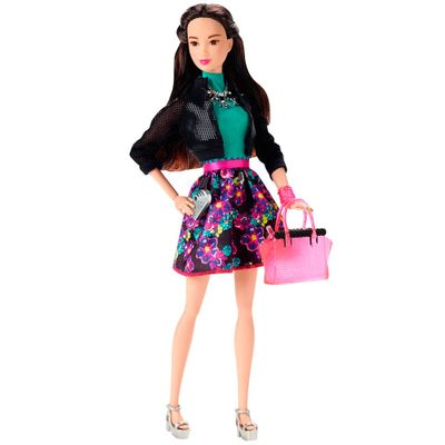 Boneca Barbie - Look do Dia - Vestido Floral - Mattel