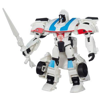 Boneco-Transformers---Robots-In-Disguise-Wariors---Autobot-Jazz-15-cm---Hasbro-1