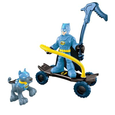 Bonecos Batman e Ace - Imaginext DC Super Amigos - Fisher-Price