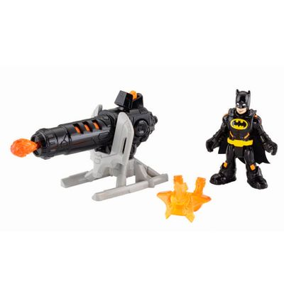 Bonecos Batman Lança Chamas - Imaginext DC Super Amigos - Fisher-Price
