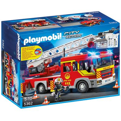 Playmobil City Action - Caminhão de Bombeiro com Escada - 5362