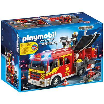 Playmobil City Action - Caminhão de Bombeiro - 5363