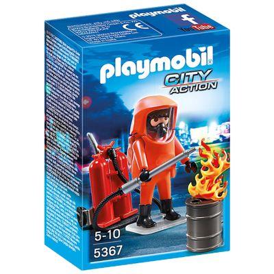 Playmobil City Action - Força dos Bombeiros - 5367