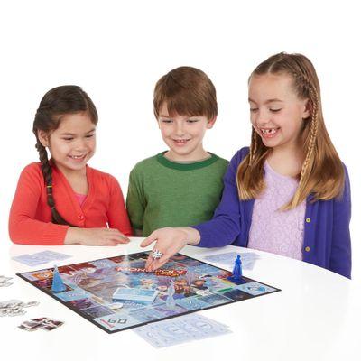 Jogo Monopoly Jr - Disney Frozen - Hasbro