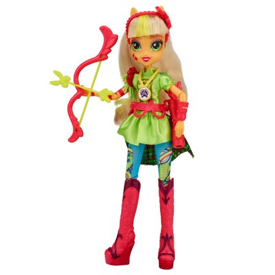 Boneca Equestria Girls - My Little Pony - Wondercolt Luxo - Applejack - Hasbro