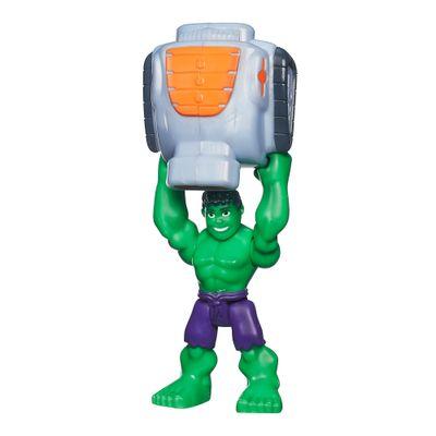 Boneco Marvel Super Hero Adventures - Playskool - Hulk - Hasbro - Disney