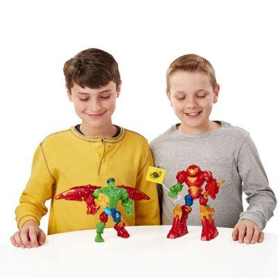 Boneco Super Hero Mashers - Marvel - Hulk e Hulk Buster - Hasbro - Disney