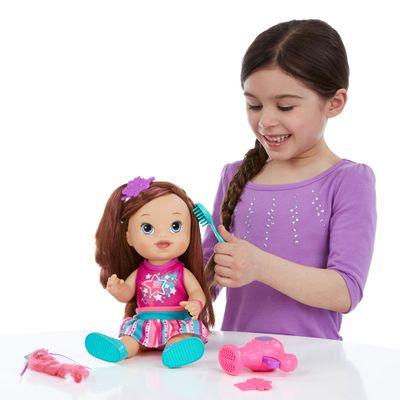 Boneca Baby Alive - Cabelos Fashion - Morena - Hasbro