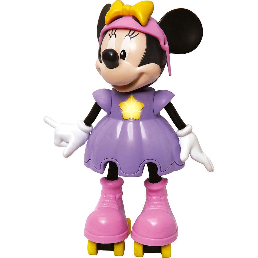 Boneca Minnie Patinadora com Sons - Elka - Disney