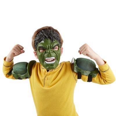 Conjunto de Acessórios - Marvel Avengers - Age Of Ultron - Máscara e Músculos Hulk - Hasbro - Disney