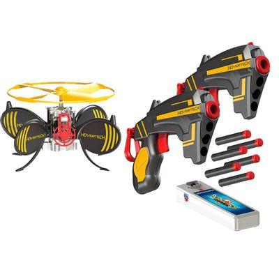 Hovertech Battle FX - Lançador de Dardos com Drone Alvo - Intek