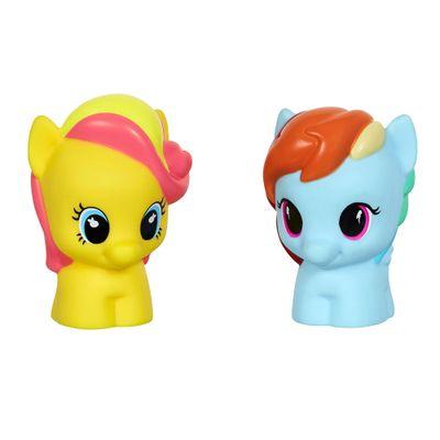Mini Figura - My Little Pony - Rainbow Dash e Bumble Sweet - Hasbro