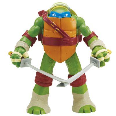 Boneco Leonardo - Head Dropping - Tartarugas Ninja - Multikids
