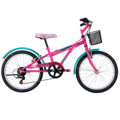 Bicicleta Aro 20 - Barbie - Caloi