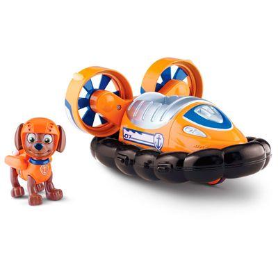 Boneco com Veículo - Patrulha Canina - Zuma's Hovercraft - Sunny