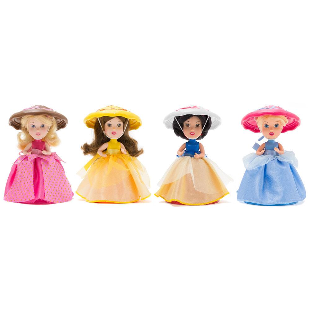 Kit Bonecas Cupcake Supresa - Princesas Disney - Estrela