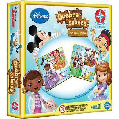 Quebra-Cabeça de Madeira - Disney Junior - Estrela