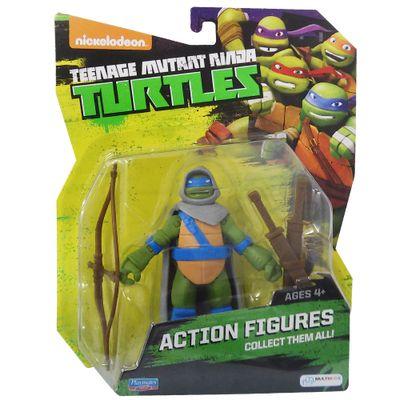 Boneco Tartarugas Ninja - Leonardo Mystic - Multikids