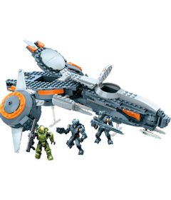 Playset-Mega-Blocks---Halo---Halo-5-Pegasus---Mattel-1