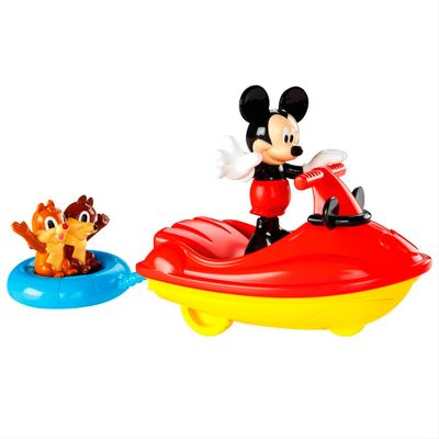 Playset Mickey Mouse Club House - Moto Aquática do Mickey - Mattel - Disney
