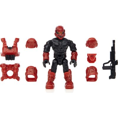 Personagens Mega Bloks - Armaduras Custom - Halo - Spartans - Mattel