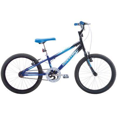 Bicicleta Aro 20 -  Trup - Preta e Azul - Houston