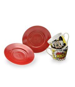 Jogo-de-Cha---02-Xicaras---Mickey---Vermelho---Mabruk-1