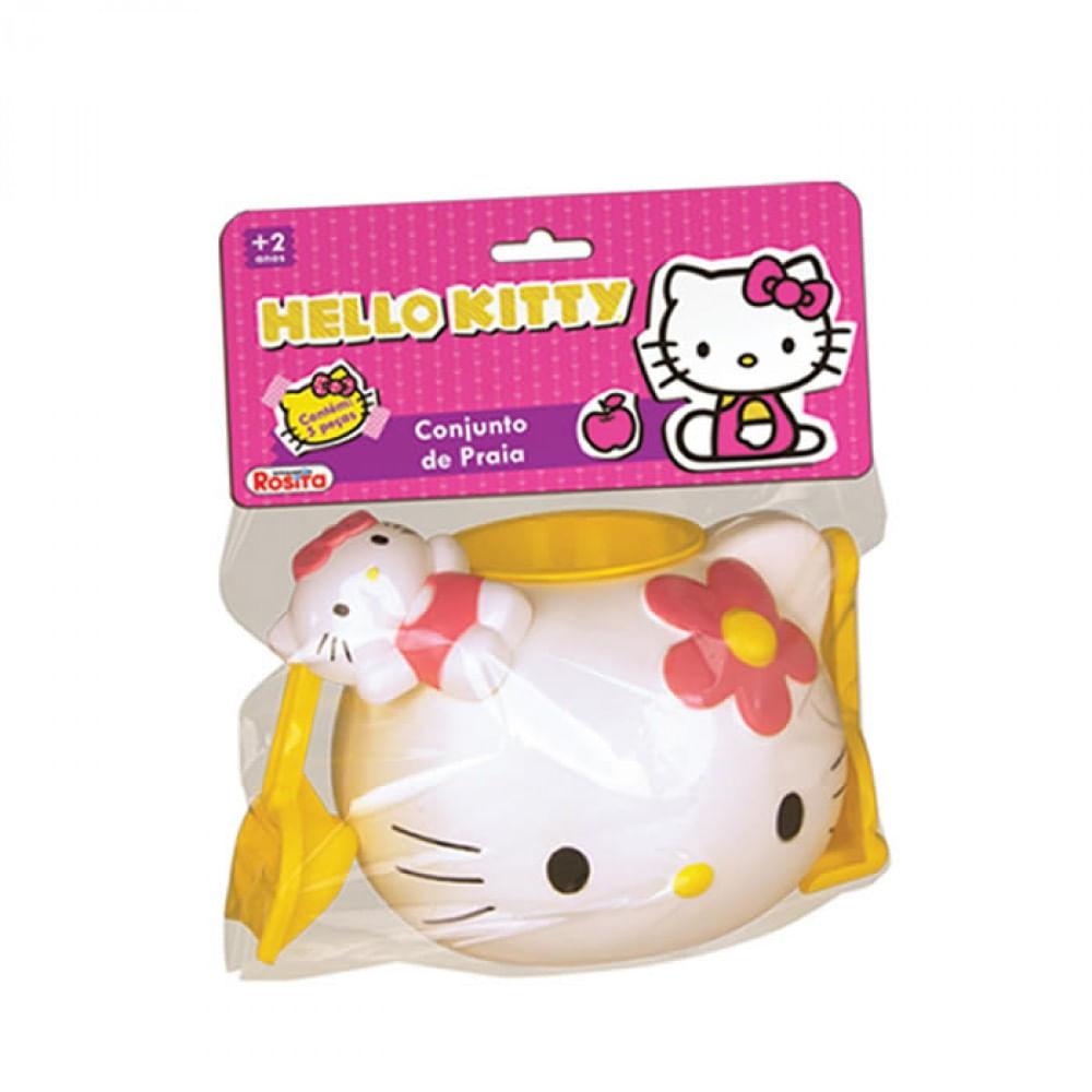 Balde de Praia - Hello Kitty - Novabrink