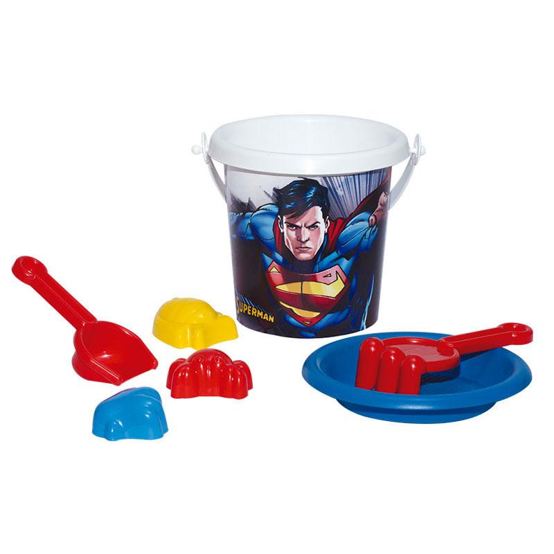Balde de Praia - Super - Homem - DC Comics - Novabrink