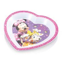 Prato-Raso-de-Microondas---Minnie-Mouse---Multikids-Baby