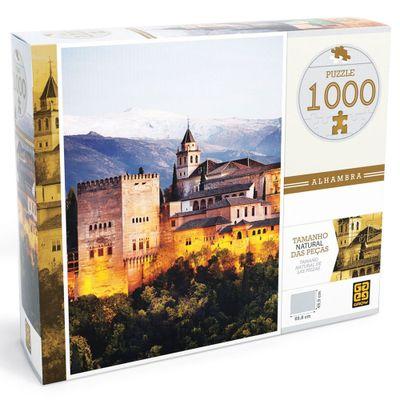 Quebra-Cabeça - Alhambra - 1000 Peças - Grow