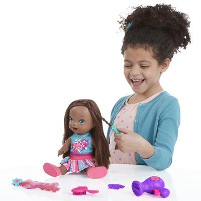 Boneca Baby Alive - Cabelos Fashion - Negra - Hasbro