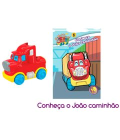 Livro-Infantil---Primeiras-Historias---Conheca-Joao-Caminhao