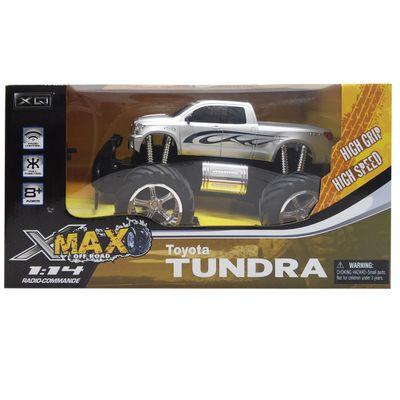 Carrinho-de-Controle-Remoto---Toyota-Tundra---Prata