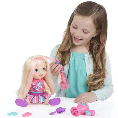 Boneca Baby Alive - Cabelos Fashion - Loira - Hasbro