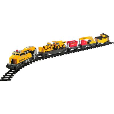 Locomotiva Caterpillar - CAT - Construction Express Train - DTC