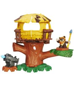 Playset-Star-Wars---Playskool---Endor-Adventure---Hasbro