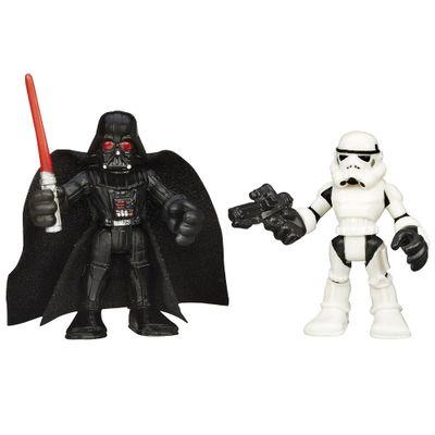 Boneco Star Wars - Playskool - Darth Vader e Stormtrooper - Hasbro