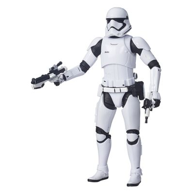 Figura Colecionável Star Wars - The Black Series - 14 cm - First Order Stormtrooper - Hasbro