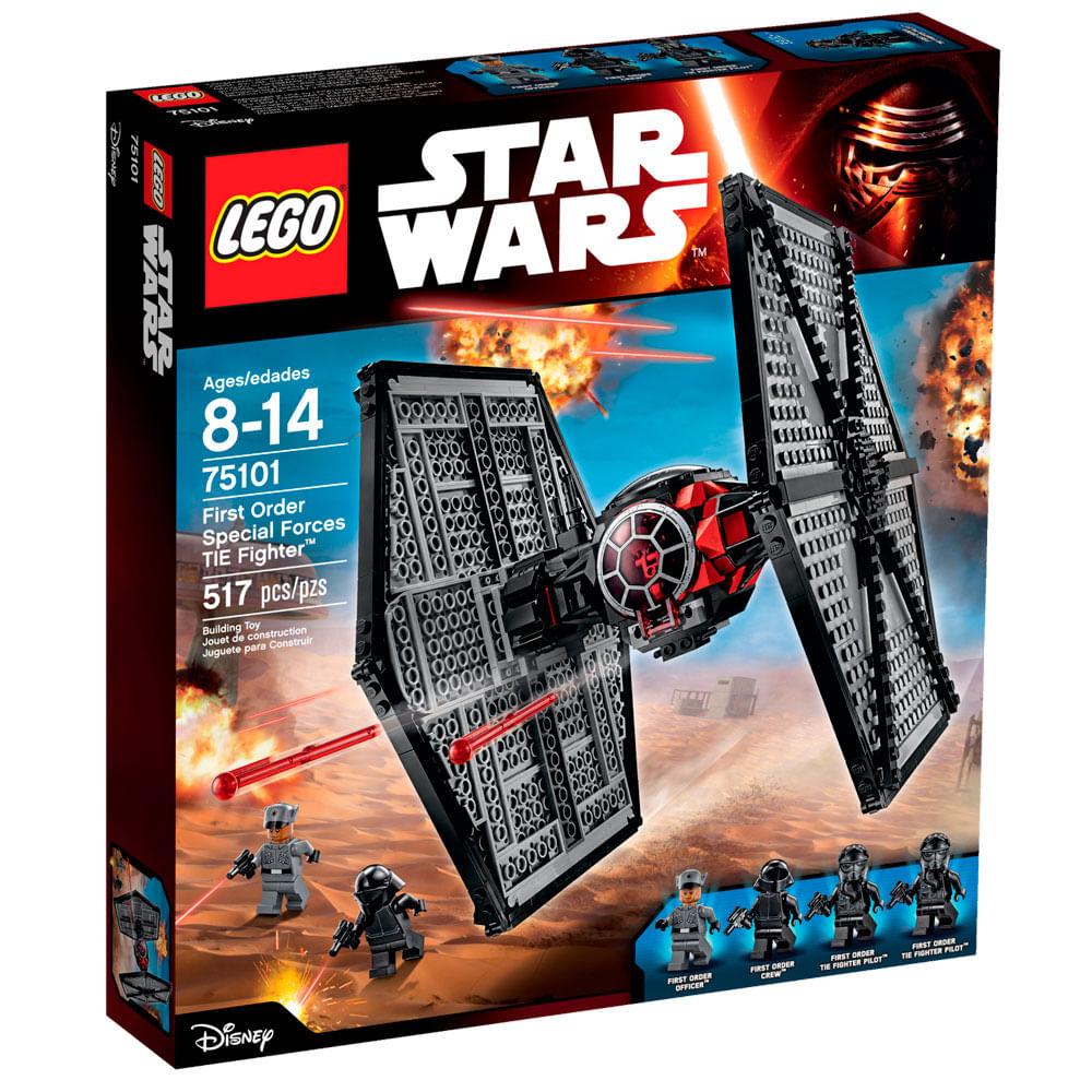 75101 - LEGO Star Wars - TIE fighter das Forças Especiais da Primeira Ordem